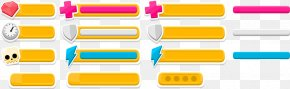 Beautifully Colored Buttons Web Elements - User Interface Design Button Icon Design Icon PNG