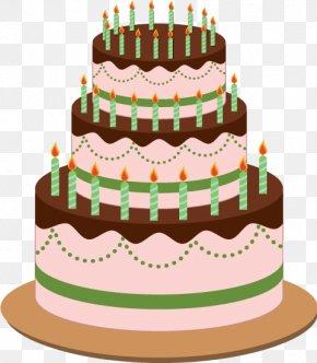 Birthday Cake,Layer Cake - Birthday Cake Layer Cake Cream PNG