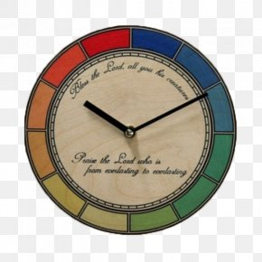 Art Wall Clock Color Edge - Industry Clock Manufacturing PNG