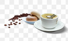 Coffee - Coffee Cappuccino Cafe Bread PNG