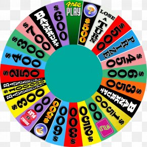 Wheel Of Fortune - Wheel Of Fortune Free Play: Game Show Word Puzzles Television Show PNG