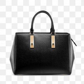 Marin Nuaolandi Bag Black Shoulder Bag - Tote Bag Handbag Leather Black PNG