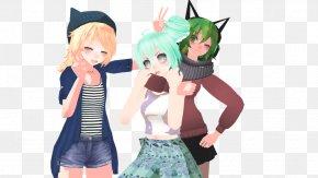 Hatsune Miku - Megpoid MikuMikuDance Vocaloid Hatsune Miku Image PNG