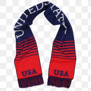 United States - Scarf United States Men's National Soccer Team Wrap Kerchief PNG