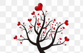 Love,Love,Love Vector Material,The Giving Tree - Tree Silhouette Shadow PNG