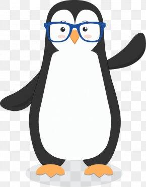 Penguin - The Penguin In The Snow Bird Little Penguin Clip Art PNG