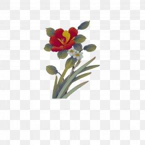 A Bouquet Of Flowers - Floral Design Flowerpot Cut Flowers Artificial Flower PNG