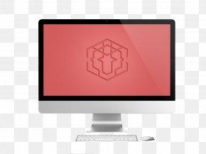 Desktop Computer Keyboard - Computer Monitor Desktop Computer Download Furniture PNG