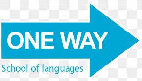 One Way - One Way, School And English Language School In Salamanca. Logo Brand Product Design PNG
