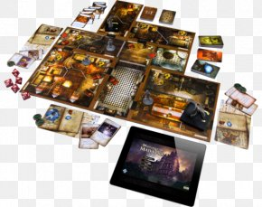 Board Game - Fantasy Flight Games Mansions Of Madness Board Game PNG