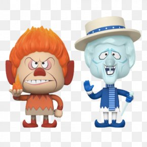 Santa Claus - Snow Miser Heat Miser Funko The Year Without A Santa Claus PNG