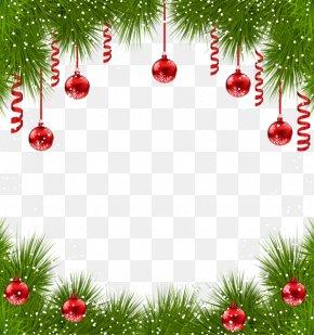 Creative Christmas Border - Christmas Ornament Christmas Tree Clip Art PNG