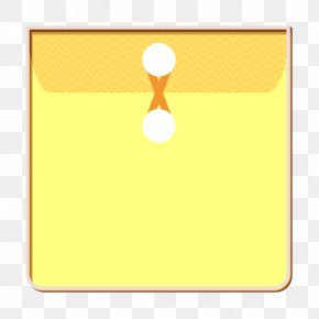 Rectangle Yellow - Envelope Icon File Icon Folder Icon PNG