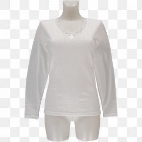 T-shirt - Long-sleeved T-shirt Long-sleeved T-shirt Blouse Neck PNG