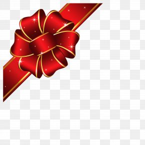 Gift Red Ribbon Image - Ribbon Gift Wrapping Icon PNG