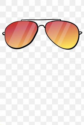 Sunglasses - Sunglasses Goggles Yellow PNG