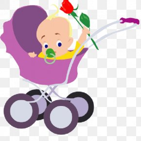 Pram Baby - Infant Mother Clip Art PNG