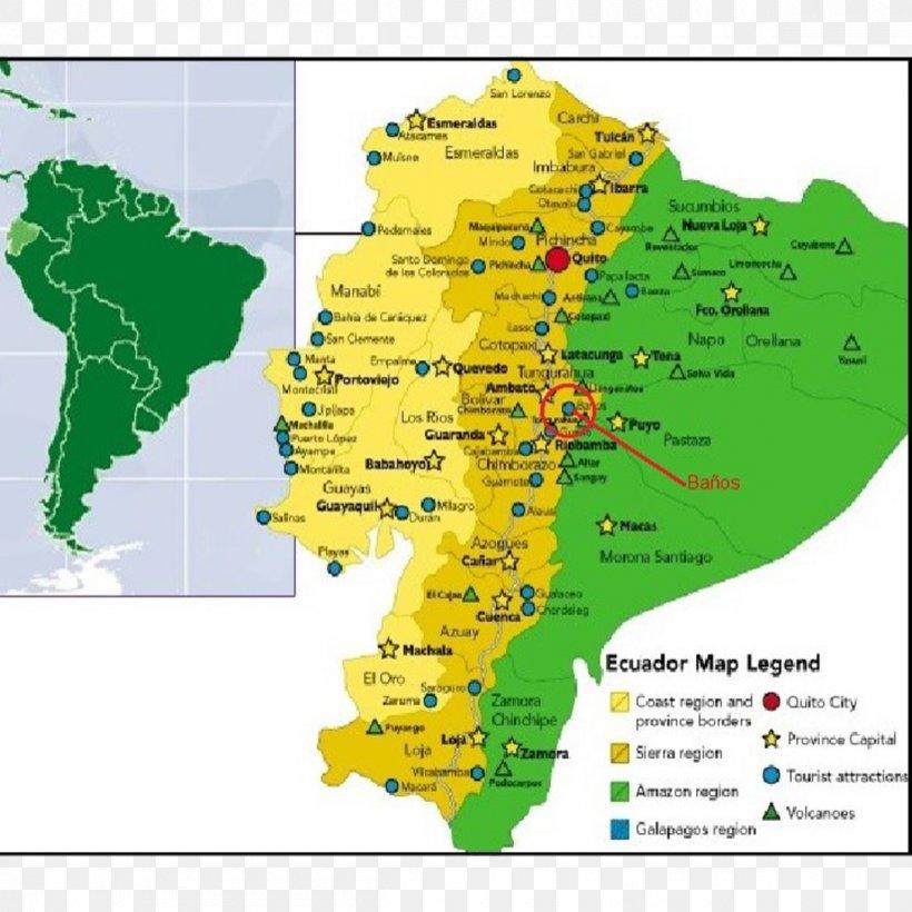 Ecuador Geography Map Region Physische Karte Png 1200x1200px