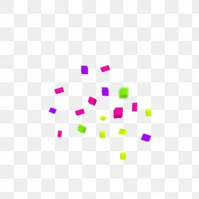 Floating Confetti - Paper Shredder Confetti PNG