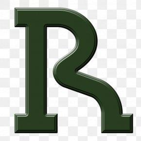R - Letter Case Font PNG