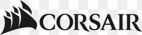 Corsair Logo - Corsair Components Logo Computer Memory Computer Hardware PNG