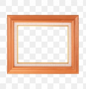 Orange Wood Frame - Picture Frame Stock Photography Royalty-free Clip Art PNG