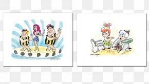 Flintstones - Animated Film Work Of Art Hanna-Barbera Cartoon PNG
