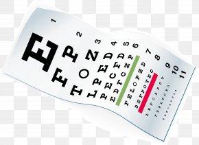 Eye Chart - Eye Chart Eye Care Professional Human Eye Glasses PNG
