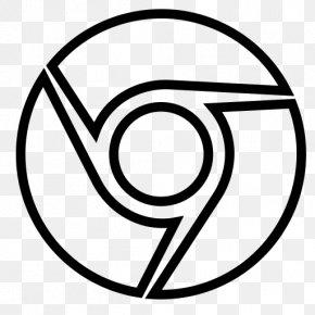 Emblem Blackandwhite - Google Logo Background PNG