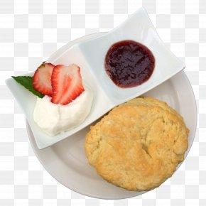 Tea - Scone Cream Tea Breakfast Clotted Cream PNG