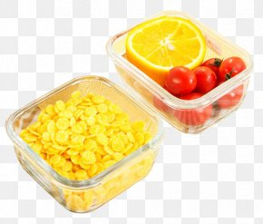 Glass Box Ingredients - Bento Toughened Glass Lunchbox PNG