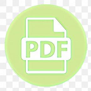 Label Logo - Green Text Yellow Font Logo PNG