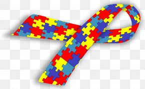 Autism Ribbon - World Autism Awareness Day Autistic Spectrum Disorders National Autistic Society PNG
