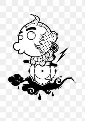 Monkey Jane Stroke - Monkey Black And White Clip Art PNG
