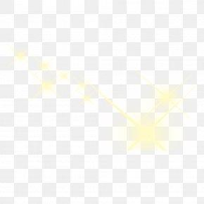 Cool Yellow Light - Symmetry Angle Pattern PNG