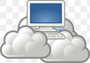 Cloud Hosting Cliparts - Cloud Computing Information Technology Computer Network PNG