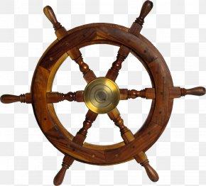 Steering Wheel - Ship's Wheel Steering Wheel Maritime Transport PNG