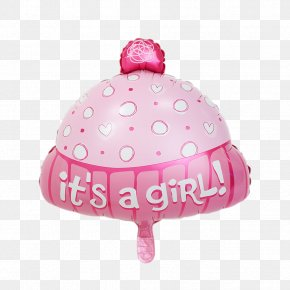 Baby Shower - Mylar Balloon Baby Shower Party Birthday PNG