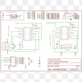 Robot Circuit Board - Arduino Schematic Electric Motor Wiring Diagram Stepper Motor PNG