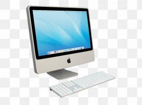 Apple Desktop Computer Prototype Transparent HD Material - Computer Hardware Laptop Desktop Computer Macintosh Personal Computer PNG