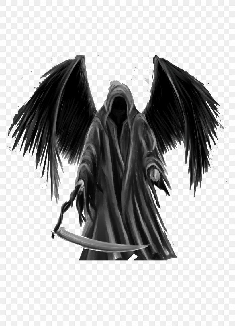 Death Tattoo Desktop Wallpaper Destroying Angel Human Skull Symbolism Png 1000x1387px Death Aesthetics Art Azrael Black