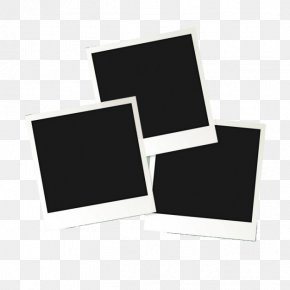 Black Frame - Instant Camera Polaroid Corporation Download PNG