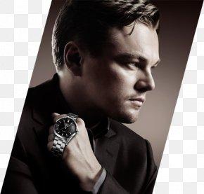 Leonardo Dicaprio - Leonardo DiCaprio TAG Heuer Carrera Calibre 16 Day-Date Watch Actor PNG