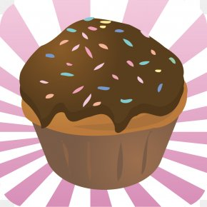 Watercolor Delicious Cake - Muffin Cupcake Chocolate Cake White Chocolate Donuts PNG