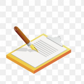 Notepad Pen - Notebook Pen PNG