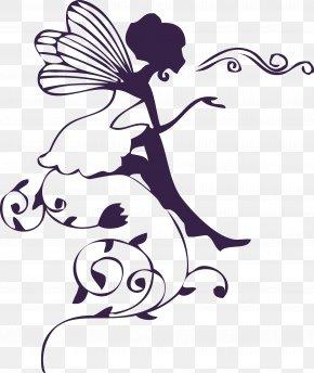Elf Fairy Vector Cartoon Fashion Beauty - Wall Decal Sticker Polyvinyl Chloride PNG