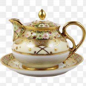 Teapot - Teapot Tableware Porcelain Noritake Saucer PNG