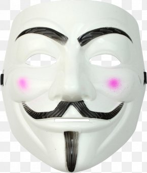 Mask - Guy Fawkes Mask Costume Clip Art PNG