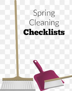 House - House Spring Cleaning Home Broom PNG