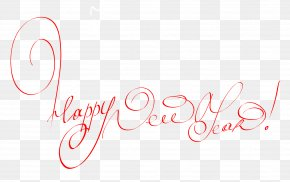 Happy New Year - Champagne New Year's Day New Year's Eve Clip Art PNG
